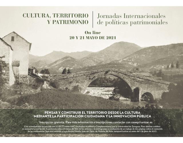 Cultura, territorio y patrimonio. CARTEL_2